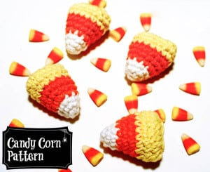 Crocheted Candy Corn ~ Petals to Picots