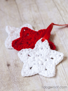 Star Ornament ~ One Dog Woof