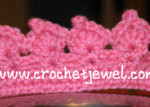 Crochet Toddler Princess Crown ~ Crochet Jewel