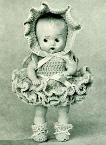 Connie Doll ~ Free Vintage Crochet
