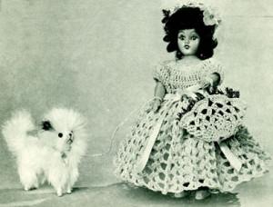 Park Avenue Belle Doll ~ Free Vintage Crochet