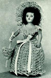 Sunbonnet Doll #252 ~ Free Vintage Crochet