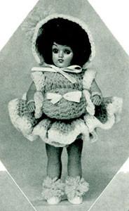 Flora Dora Doll ~ Free Vintage Crochet
