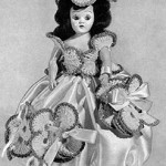 Pansie Pin Cushion Doll ~ Free Vintage Crochet