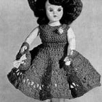 Frances Doll ~ Free Vintage Crochet