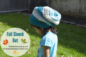 Fall Slouch Hat ~ The Stitchin' Mommy & Oombawka Design