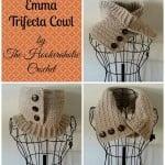 Emma Trifecta Cowl ~ Shannon Kilmartin - Cre8tion Crochet