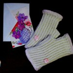Unisex Beginner Fingerless Gloves ~ Sick 'Lil Monkeys - Cre8tion Crochet