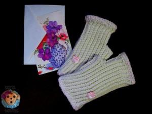 Unisex Beginner Fingerless Gloves ~ Sick 'Lil Monkeys - Cre8tion Crochet