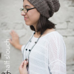 The Half 'N Half Slouch ~ Rebecca Langford - Little Monkeys Crochet
