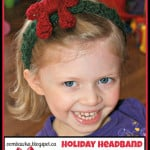 Holiday Headband ~ Oombawka Design