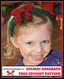 Holiday Headband ~ Oombawka Design