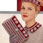 Hat, Collar and Bag Set Pattern ~ Free Vintage Crochet