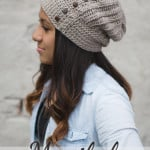 The Maribel Slouch ~ Rebecca Langford - Little Monkeys Crochet