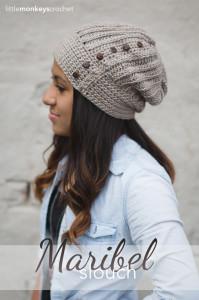 The Maribel Slouch ~ Rebecca Langford - Little Monkeys Crochet