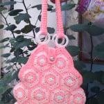 Crochet Hexagon Handbag ~ aamragul – Crochet/Crosia Home
