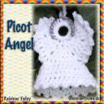 Christmas Picot Angel ~ Rainbow Valleys