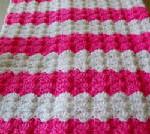 Pink Shells Baby Afghan ~ Barb's Crochet Patterns