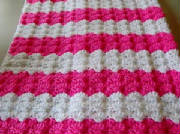 Pink Shells Baby Afghan ~ Barb's Crochet Patterns