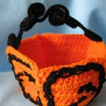 Halloween Candy Basket ~ Donna's Crochet Designs