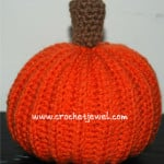 Crochet Pumpkin Pattern ~ Crochet Jewel