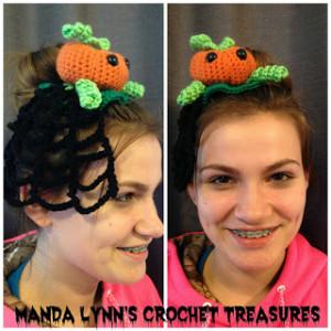 Pumpkin's Veil ~ Manda Proell - MandaLynn's Crochet Treasures