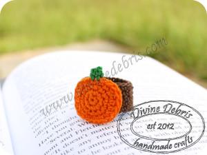 Pumpkin Ring ~ Divine Debris