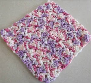 Snapdragon Stitch Dishcloth ~ Barb's Crochet
