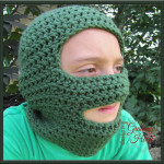 Snowy Ski Mask ~ Designs from Grammy's Heart, with Love