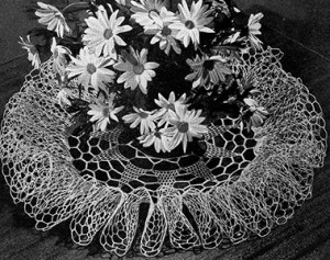 Thistledown Doily ~ Free Vintage Crochet