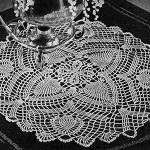 Flowering Pine Doily ~ Free Vintage Crochet