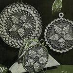 Pineapple Popcorns Pot Holder & Hot Plate Mat ~ Free Vintage Crochet