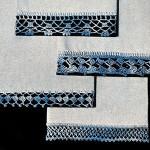 Colorful Towel Edgings ~ Free Vintage Crochet