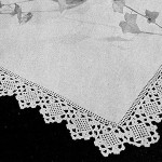 Square Motif Edging #342 ~ Free Vintage Crochet