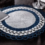 Table Mat #409 ~ Free Vintage Crochet