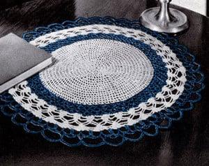 Table Mat #409 ~ Free Vintage Crochet