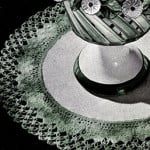 Shell and Knot Stitch Doily ~ Free Vintage Crochet