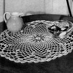 Chain Table Mat ~ Free Vintage Crochet