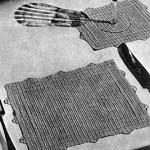 Luncheon Set in Filet ~ Free Vintage Crochet