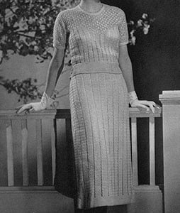 Debonaire Dress ~ Free Vintage Crochet