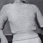 Weekend Sweater ~ Free Vintage Crochet