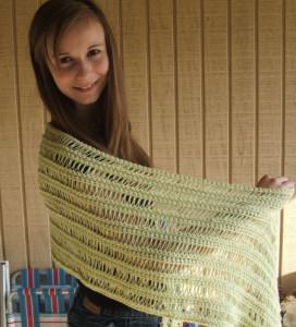 Spring Shawl ~ Kim Guzman - CrochetKim