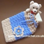 Hot Water Bottle Cover ~ Patterns For Crochet