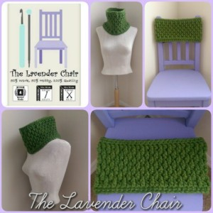 Chunky Brick Cowl ~ Dorianna Rivelli - The Lavender Chair