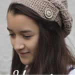 Yenni Slouch Hat ~ Rebecca Langford - Little Monkeys Crochet