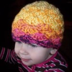 Toddler Shell Beanie ~ Stitch11
