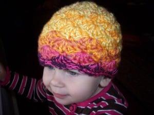 Toddler Shell Beanie ~ Stitch11