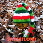 0-3 Month Elf Hat ~ Stitch11