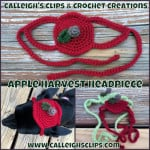 Apple Harvest Headpiece ~ Elisabeth Spivey – Calleigh's Clips & Crochet Creations