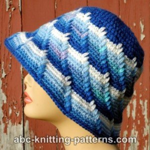 Let It Snow Cloche ~ ABC Knitting Patterns